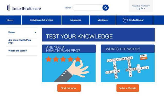 unitedhealthcare-test-your-knowledge