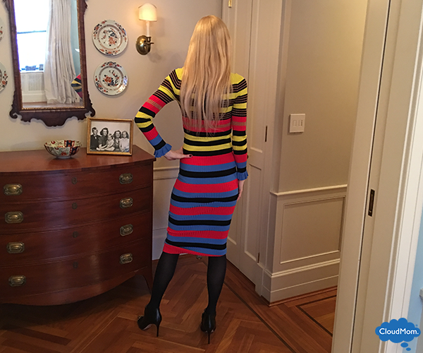 Opening Ceremony dress with booties