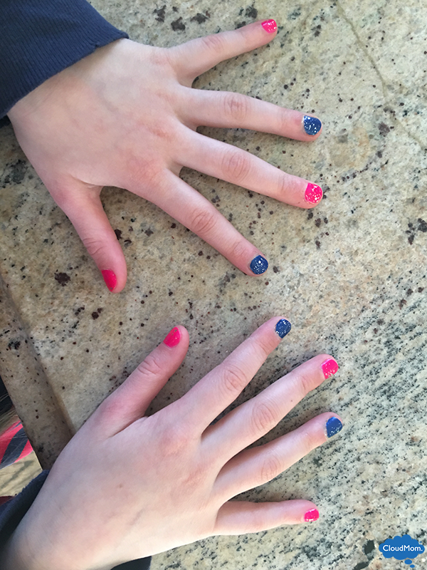 pretty nails for little girls