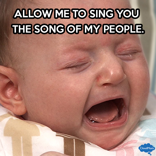 Allow me to sing you the song of my people.