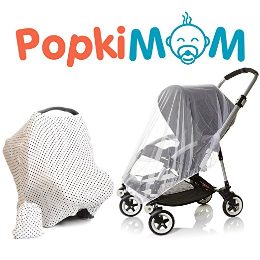 Popkimom weather shield and breastfeeding cover