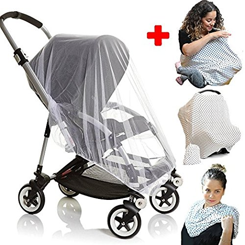 weather shield for stroller and cover for breastfeeding in public