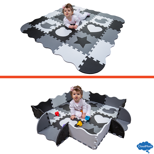 play area for crawling baby