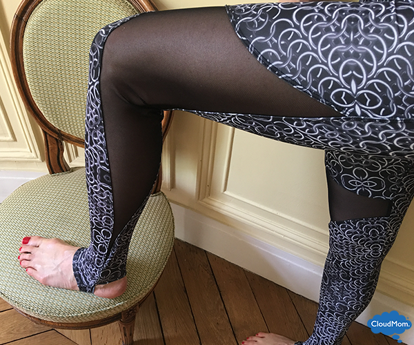 yoga exercises wearing Onzie