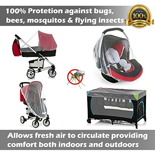 infant cover that protects against bug bites
