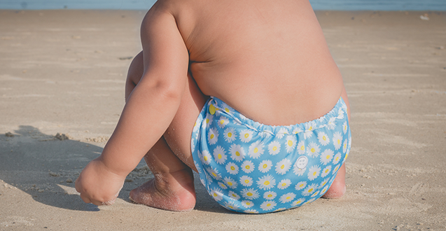 Cloth Diapering 101: Buttons Diapers