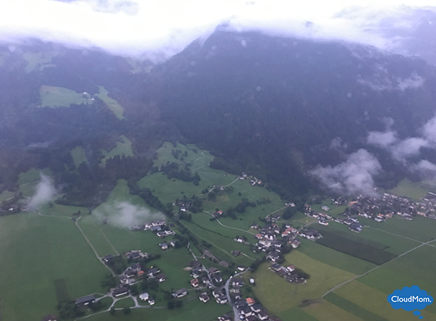 view from helicopter ride