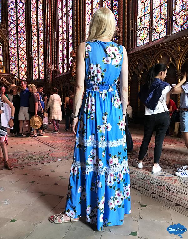long floral pattern Liu Jo dress