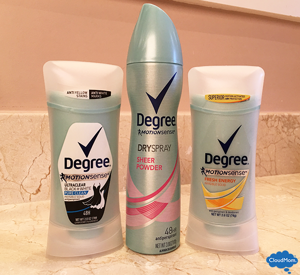 Degree MotionSense™ deodorant