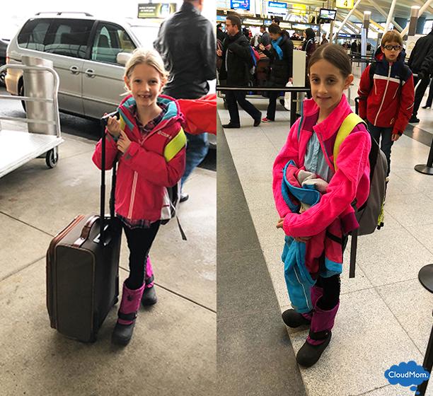 family ski trip packing list