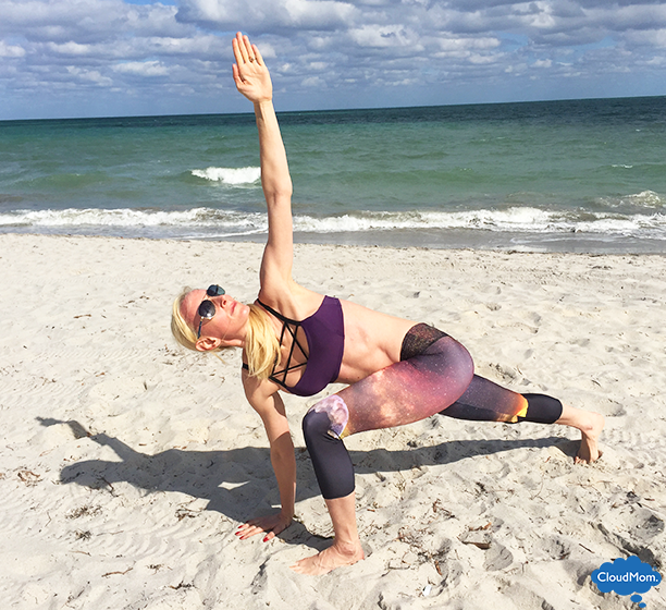 How to do Twisting Lunge -- Onzie Giveaway