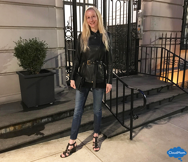 A classic women's belted leather jacket and thoughts on a treasured friendship in this week's Fashion Post plus giveaway.