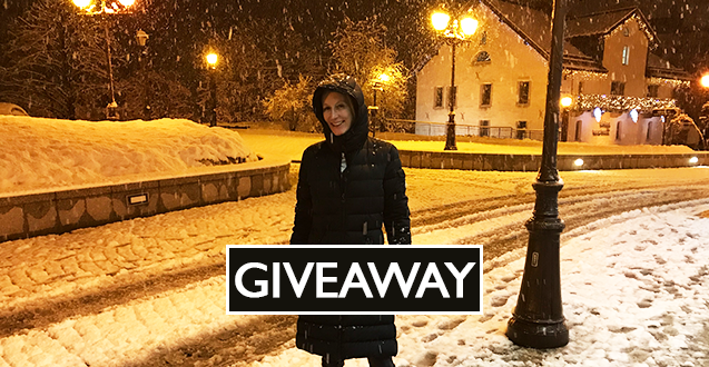 Looking for fashionable down jacket ideas? My all-time favorite down coat in this week's fashion post plus giveaway!