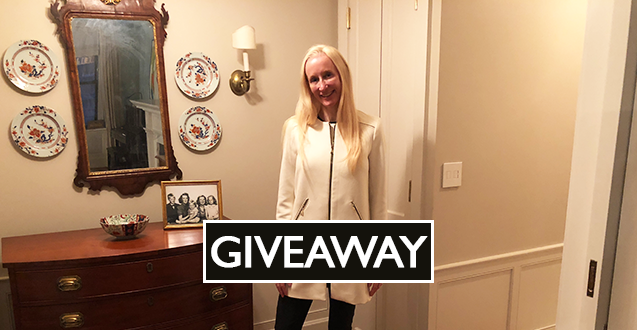 Tips on stylish professional attire for women with a recent outfit in this week's fashion post plus giveaway.
