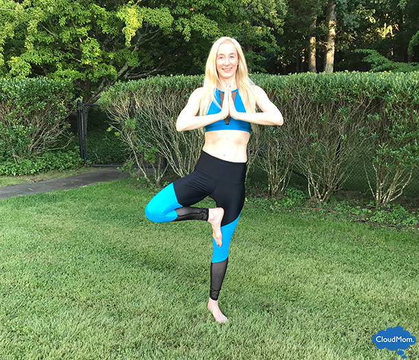 The benefits of the tree pose in our latest Onzie yoga wear giveaway.