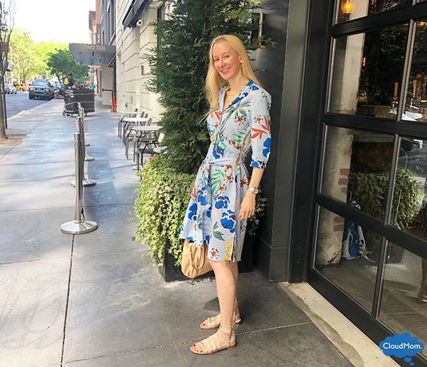 Zara Floral Print Dress