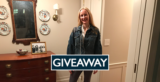 Zara Embroidered Jean Jacket Giveaway
