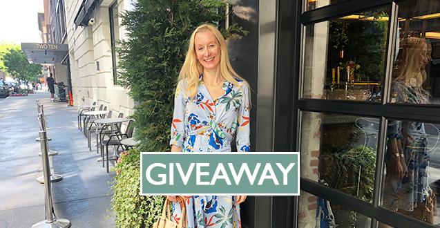 Zara Floral Print Dress for Summer Giveaway