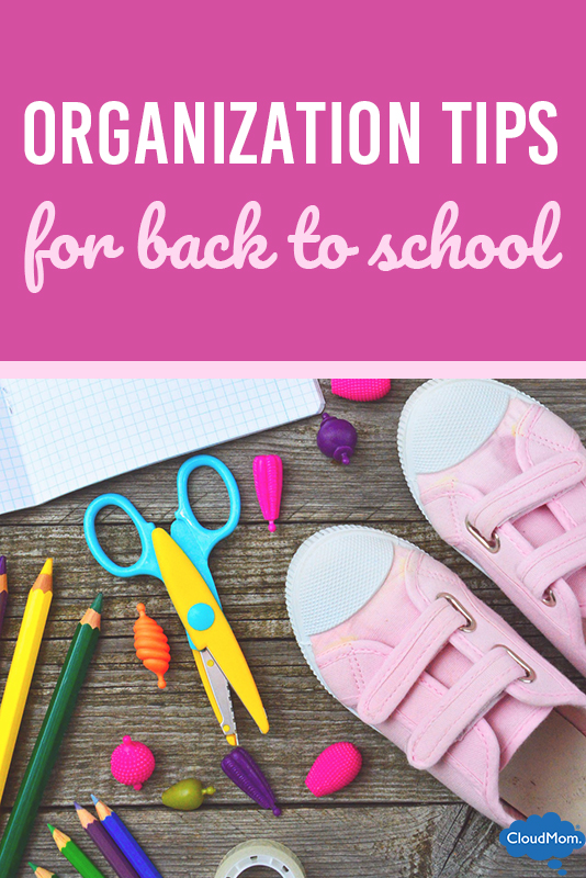 5 Organizational Tips for Back to School