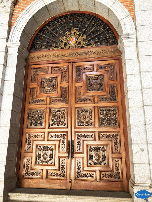 beautiful door in Toledo
