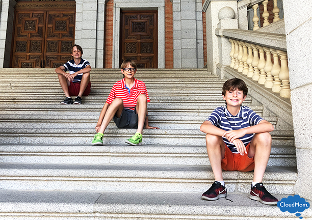 Toledo Spain with kids