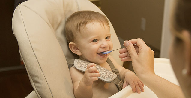 Solid Foods For Weaning Baby