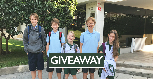 Moving Abroad with Kids Giveaway