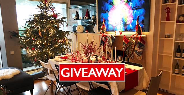 Dinner Party Ideas for Christmas Giveaway