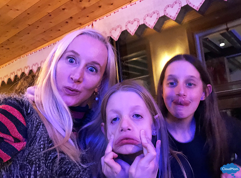 being silly with your kids