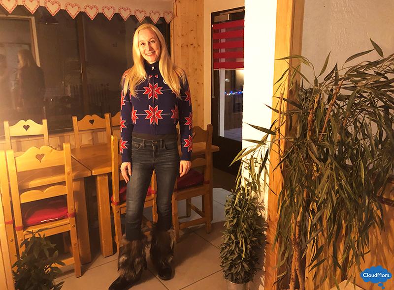 Colmar Apres Ski Outfit