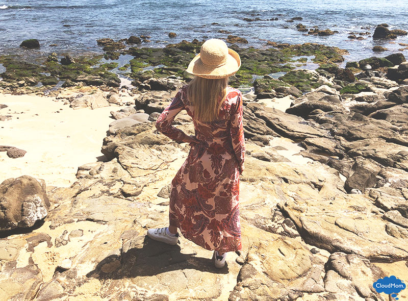 how to style a maxi dress