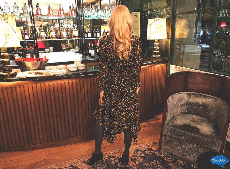 asymmetrical maxi dress