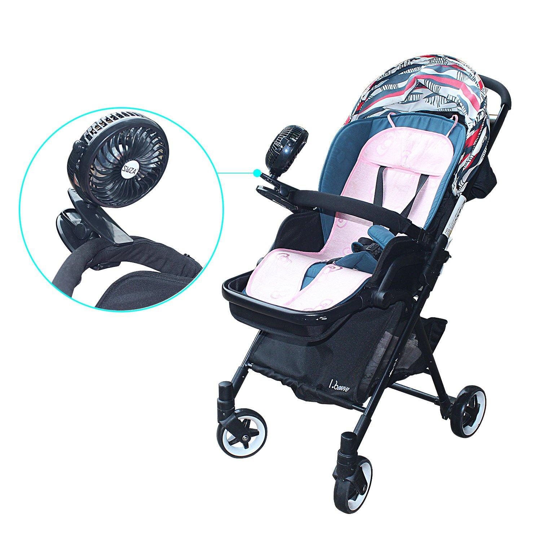 SWZA Stroller Fan Clip on Fan