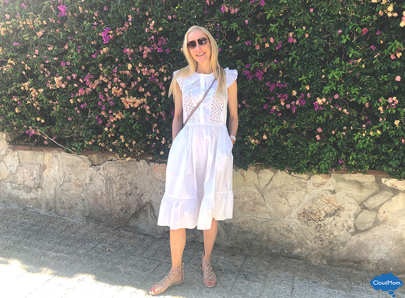 White Lace Summer Dress Giveaway Cloudmom