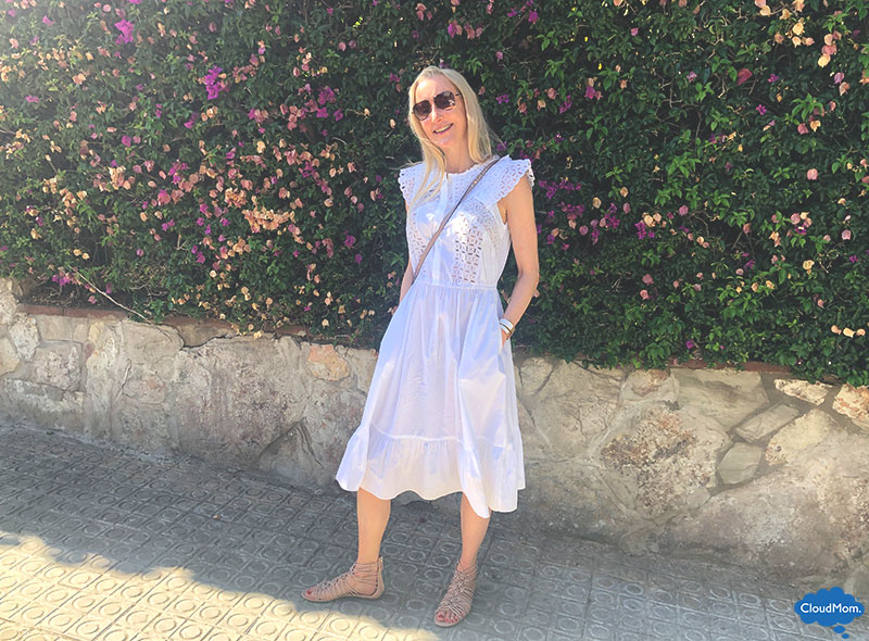 white lace dress for summer