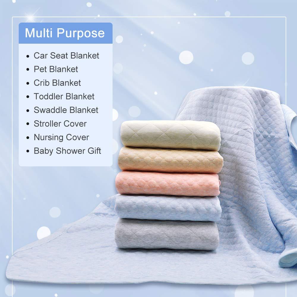 Zenssia Organic Cotton Baby Blanket