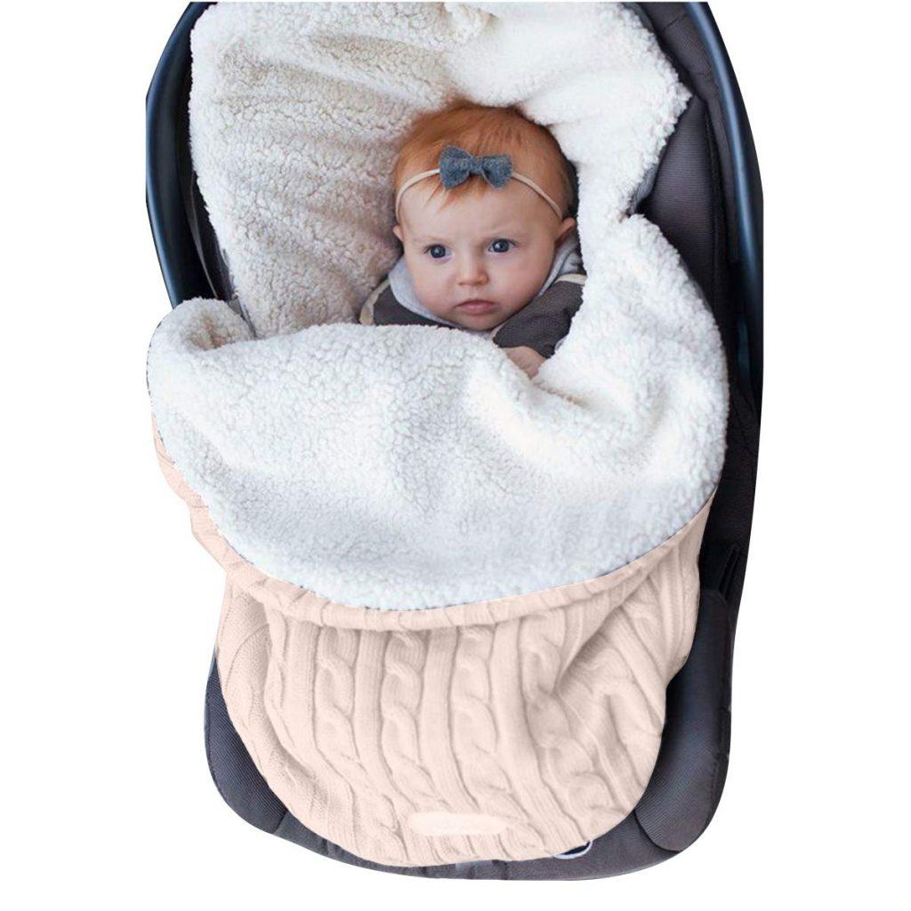 Oenbopo Newborn Baby Swaddle Blanket Wrap