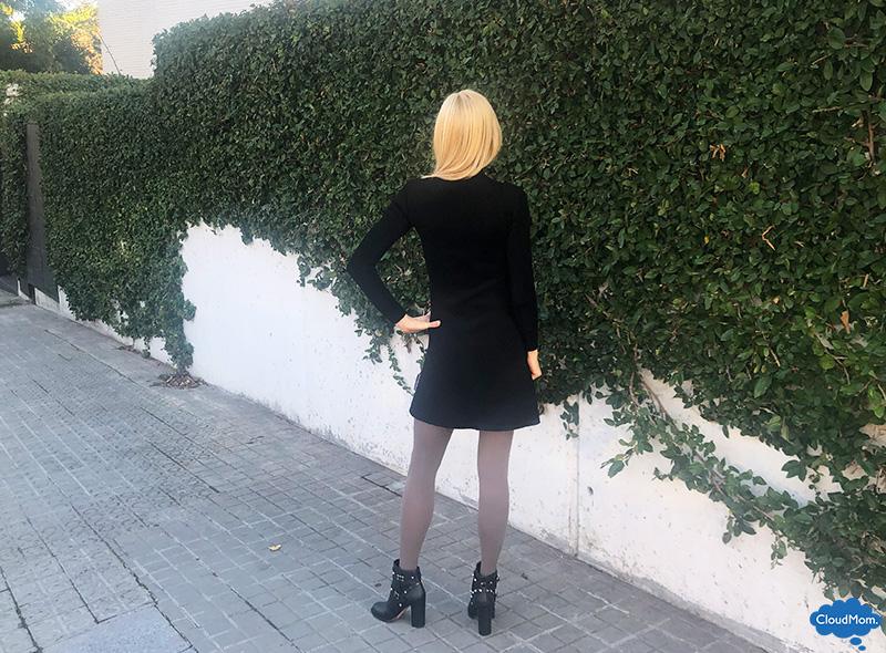 black DSW booties