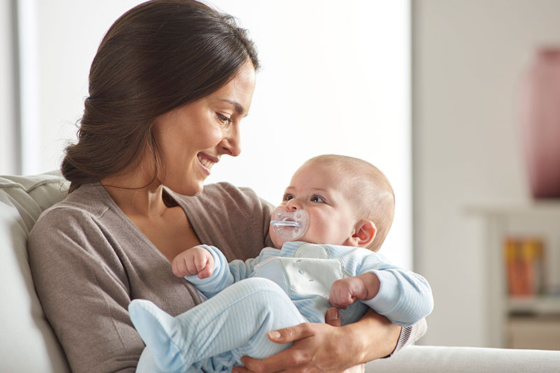 Chicco Pacifier mom and baby