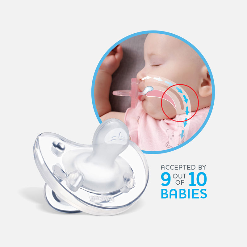Chicco PhysioForma baby breathing illustration