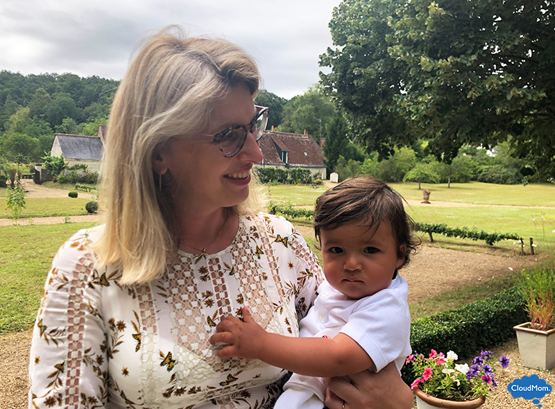 Helene and baby