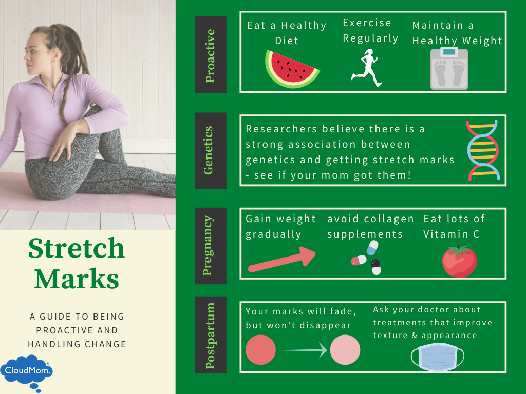 """how to reduce stretch marks, why they appear, and answers to """"do stretch marks ever really go away?"""""""