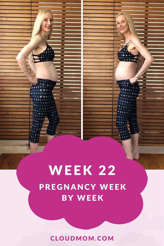 Week 21 Pregnancy Week by Week, Melissa with Baby Bump