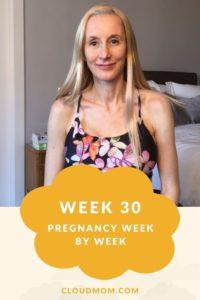 Photo of Melissa for Pregnancy Week by Week Series, Week 30