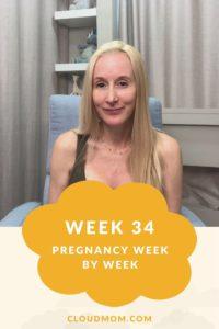 Photo of Melissa for Pregnancy Week by Week Series, Week 34