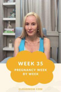 Photo of Melissa for Pregnancy Week by Week Series, Week 35