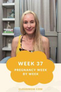 Photo of Melissa for Pregnancy Week by Week Series, Week 37