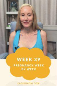 Photo of Melissa for Pregnancy Week by Week Series, Week 39