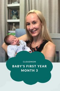 Month 3 Baby's First Year Pinterest