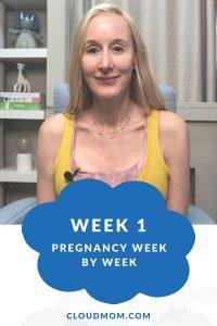 Photo of Melissa for Pregnancy Week by Week Series, Week 1